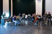Rehearsing Fern with Amsterdam Sinfonietta and Slagwerk Den Haag