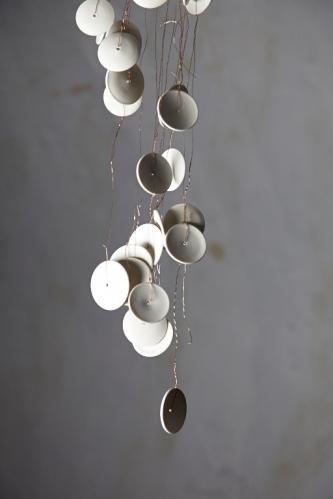 Porcelain sound sculpture by Kate Moore 2009-2014