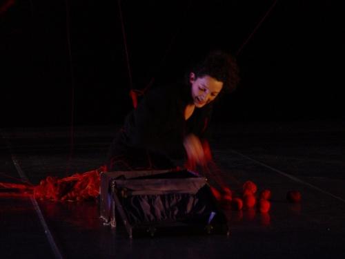 2008 The Open Road with music by Kate Moore, directed by Matthias Mooij, performed by Eva Tebbe, Michaela Riener, Marc Kaptijn, Eef van Breen