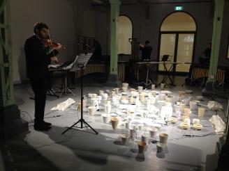 Bone China (2014) with violinist Joe Puglia