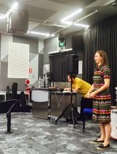 Kate Moore (composer) talk and presentation for composition department Western Australian Academy of Performing Arts (2015)
