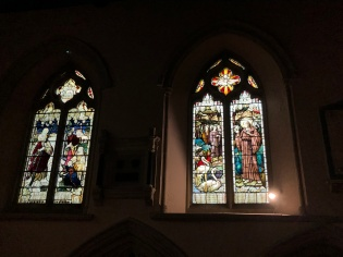 St Christopher and St Francis in St Peters church | Berkhamsted