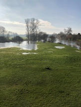 Thames floodwater at Wallingford