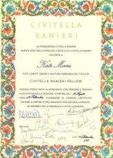 Civitella Ranieri Fellowship 2017
